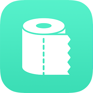 Flush Toilet Finder App icon